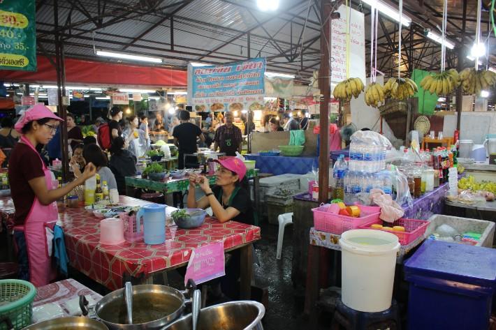 Phuket Old Town night market food stall