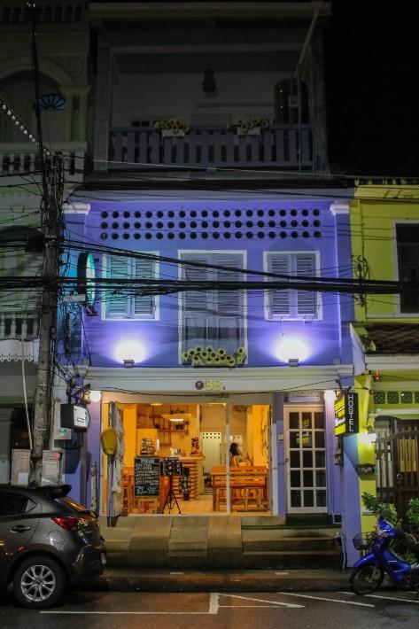 Phuket Old Town night