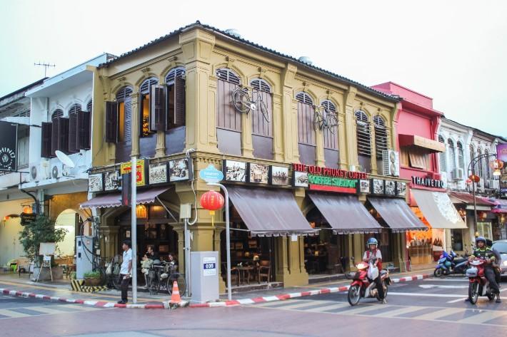 Phuket Old Town old phuket coffee shop