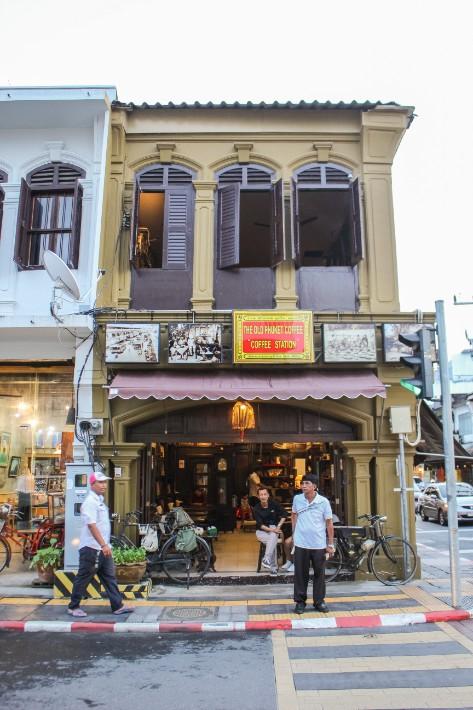 Phuket Old Town old phuket coffee