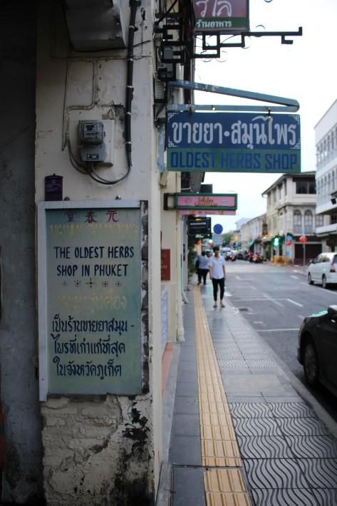 Phuket Old Town oldest herb shop
