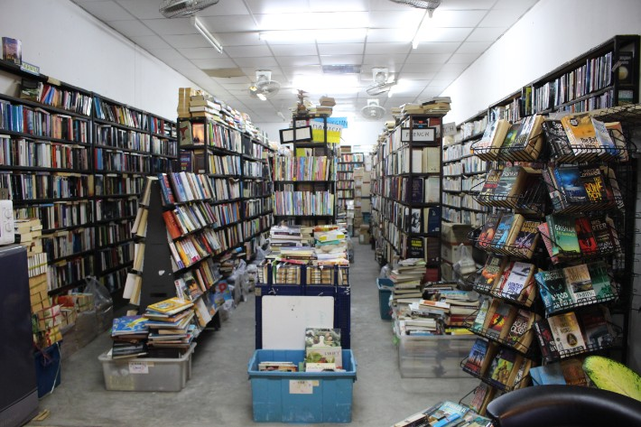 Phuket Old Town secondhand book store old
