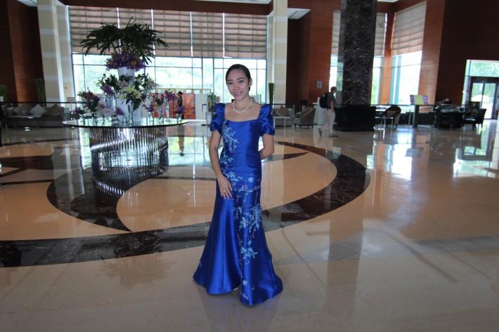 Radisson Blu Cebu traditional filipino clothing