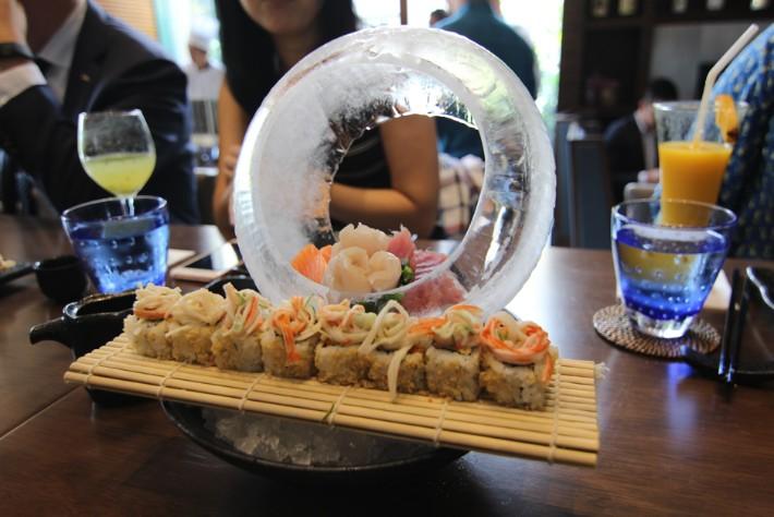 Sushi Sake Radisson Blu Cebu sashimi maki
