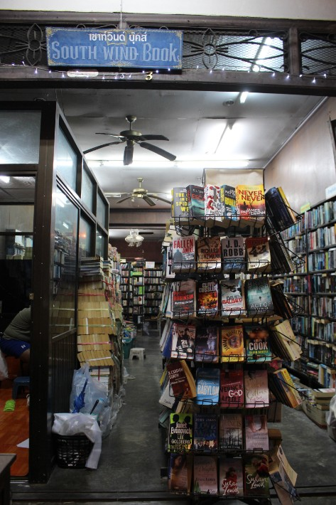 secondhand book store Phuket Old Town