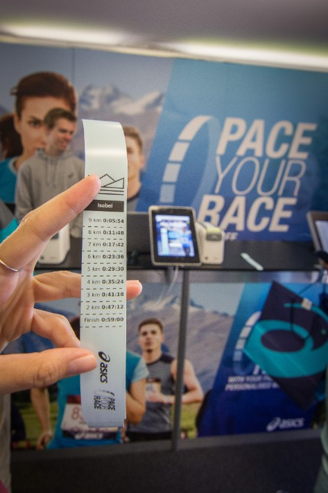 Air New Zealand Queenstown International Marathon pacer tag