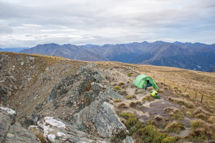 breast hill wanaka camping summit new zealand