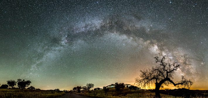 Alqueva-Dark-Sky,-Portugal,-milky-way stargazing