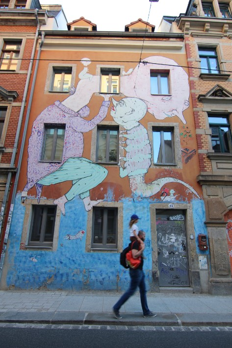 Dresden Neustadt street art, Things to Do in Dresden, Germany