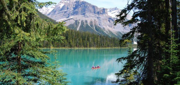 Emerald Lake, Canada, kayak, canada road trip itinerary, Canada scenic drives