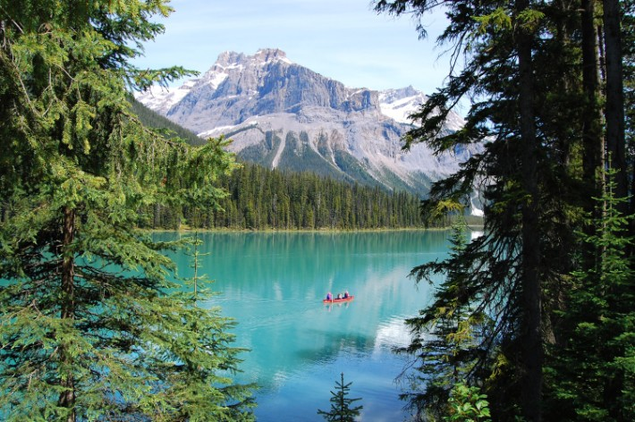 Emerald Lake, Canada, kayak, canada road trip itinerary, Canada scenic drives
