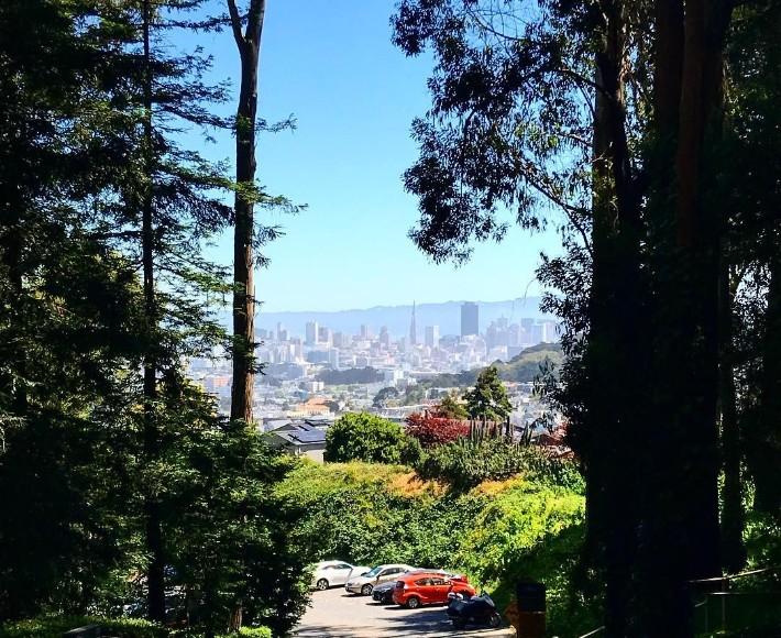 San Francisco - Mount Sutro