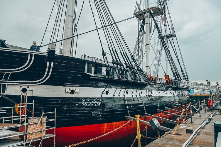 USS Constitution, 2 Days in Boston, weekend in Boston itinerary