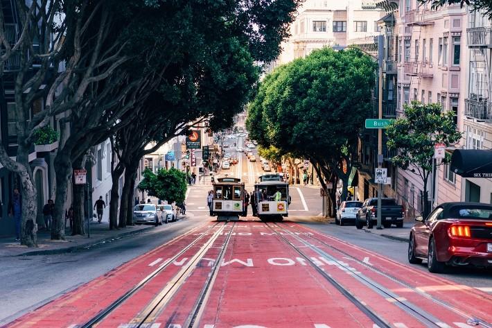 cable car town San Francisco