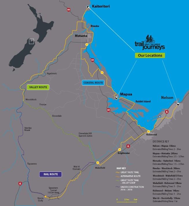 nelson great taste trail-map new zealand