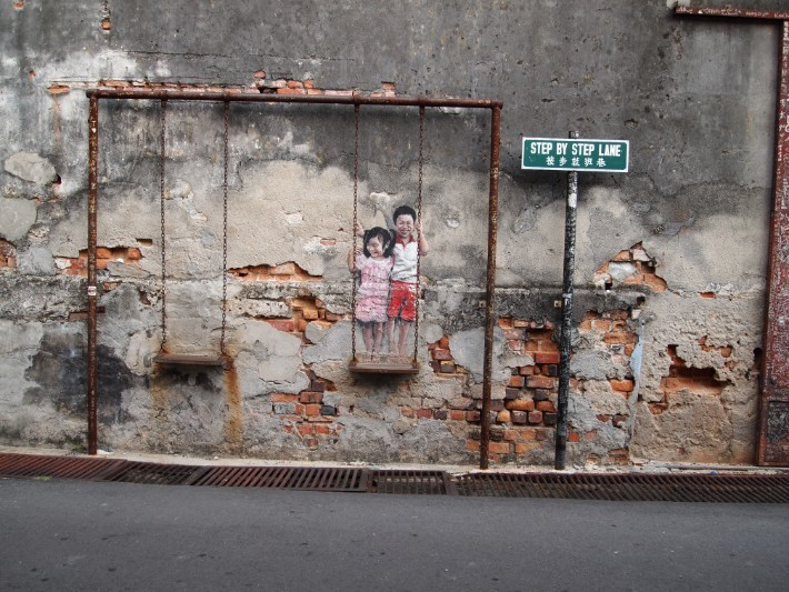 Penang Street Art – 14 Favourite Wall Murals You'd Come to Penang for