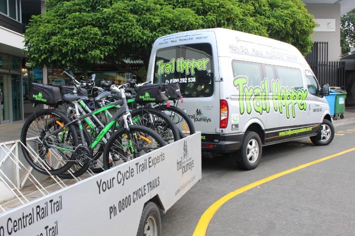 trail hopper, Great Taste Trail Nelson, New Zealand