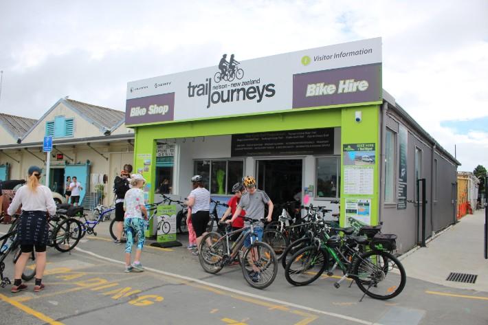 trail journeys nelson bike hire, Great Taste Trail Nelson, New Zealand