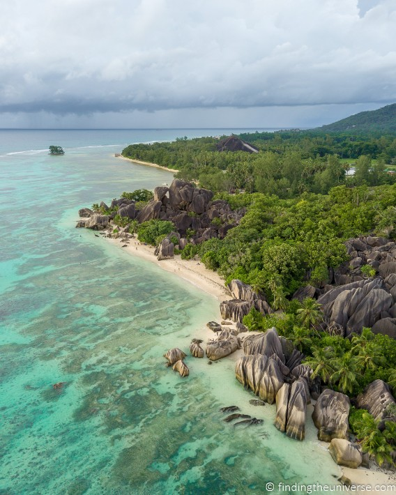 Anse Source D'argent Seychelles - findingtheuniverse; Best drones for travel