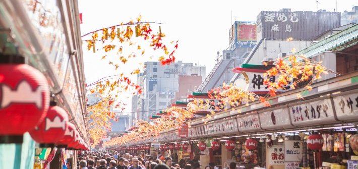 Asakusa; Nakamise Dori; best places to visit in tokyo