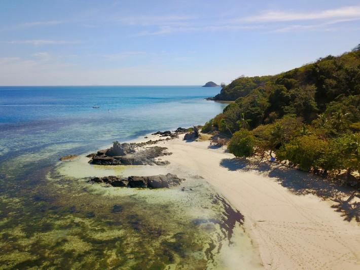 Fiji Castaway Island Drone - thetravellingmom; Best drones for travel