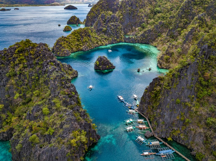 Kayangan Lake el nido philippines- travel-tramp; Best drones for travel