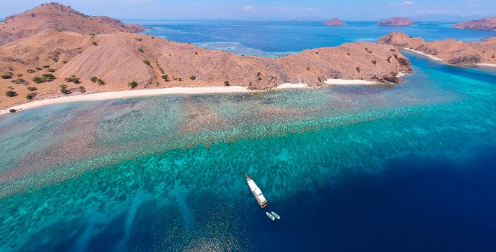 Komodo National Park, Indonesia - thetravellingstomach; Best drones for travel