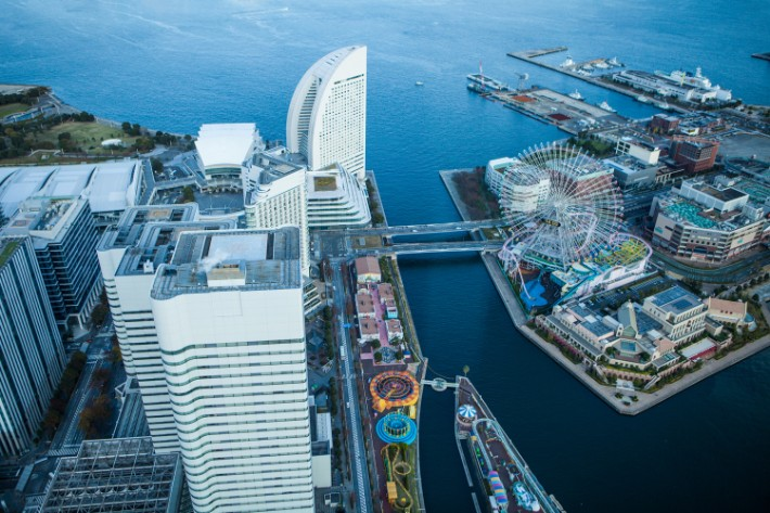 Odaiba; ferris wheel; viewpoint; best places to visit in tokyo