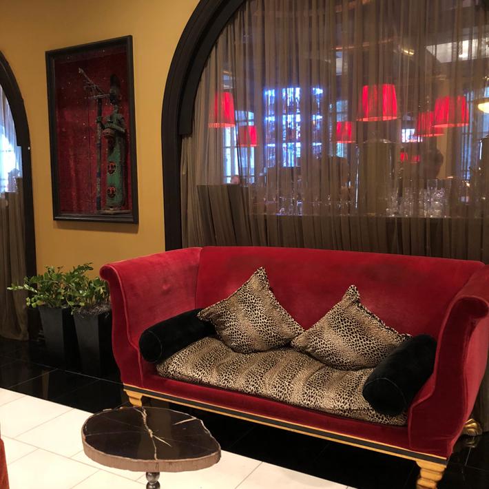 Orlando-Bohemian-Hotel-Lobby,-cool-hotels-in-orlando-florida