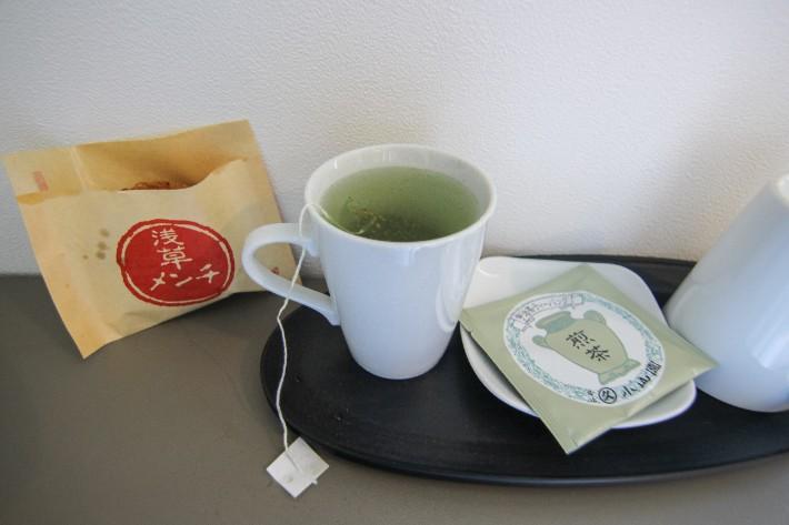 Red Planet Tokyo Asakusa complimentary tea