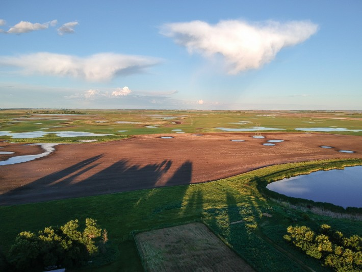 Sanborn, North Dakota - chasingdepartures; Best drones for travel