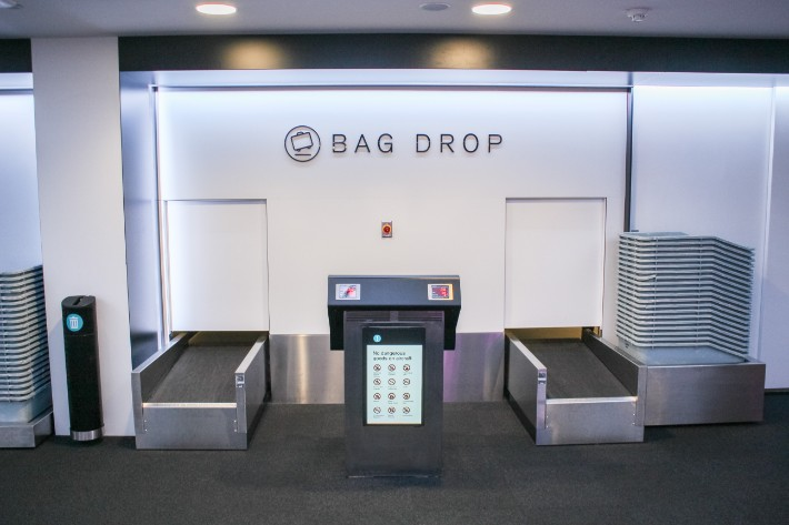 air new zealand flight business class bag drop check in