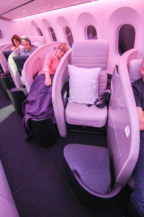 air new zealand flight business class seats