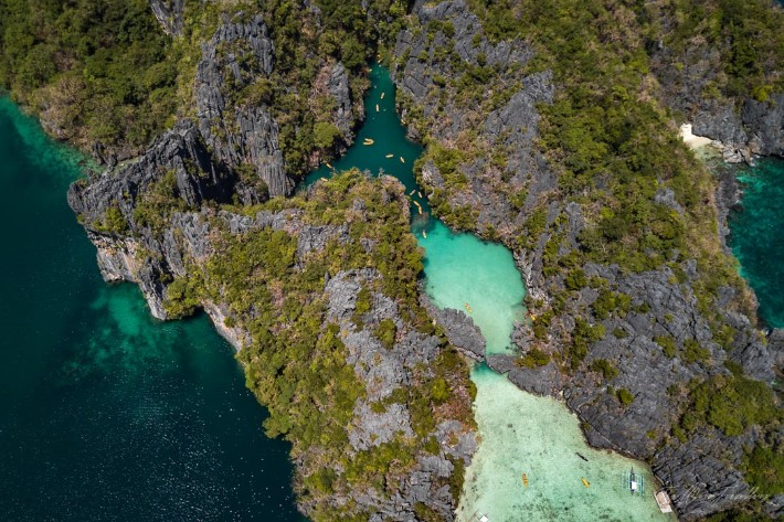 el-nido-lagoons - thewisetravellers; Best drones for travel