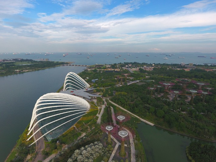 gardens by the bay singapore - onceinalifetimejourney; Best drones for travel