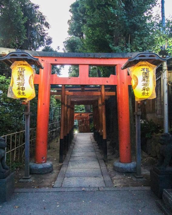 ueno park shrine temple tokyo