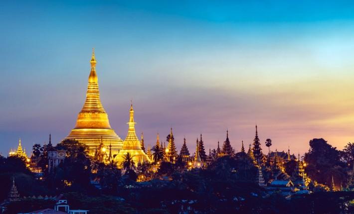 Shwedagon Pagoda, Myanmar tourist attraction, places to visit in Myanmar