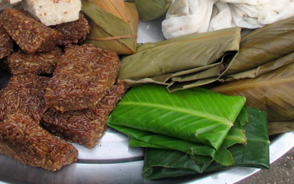 yangon snack, Myanmar