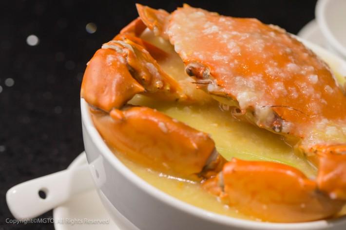 Crab Soup, best food in macau