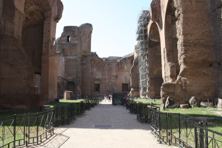 bath-of-caracalla rome italy