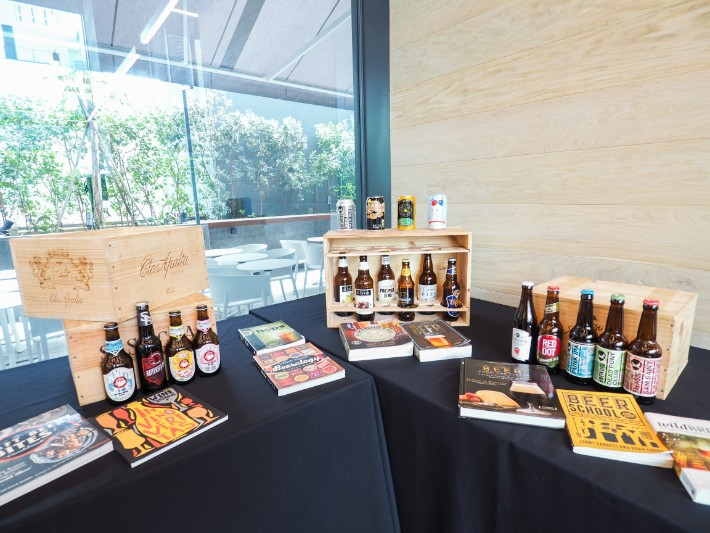 brewed beer, yotel singapore hotel review
