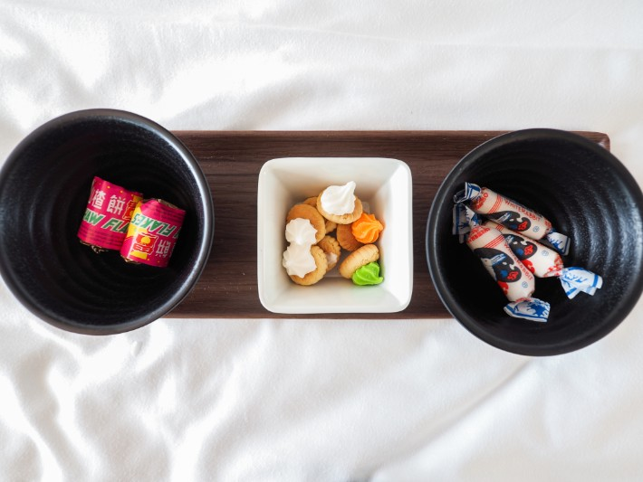 local snack, yotel singapore hotel review