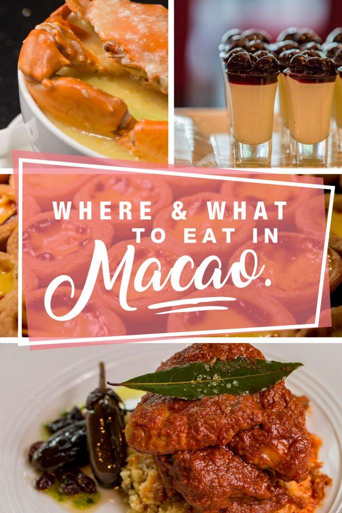 macao eat, best food in macau, where to eat in macau, what to eat in macau