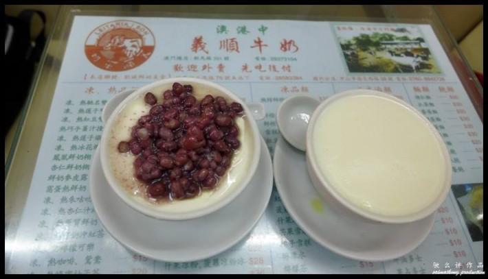 milk pudding at Leitaria I Son, best food in macau