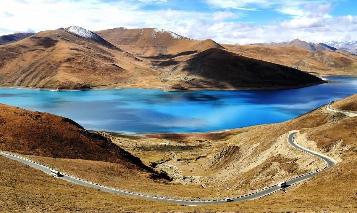 yamdrok lake, why visit tibet travel