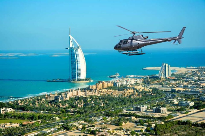 A Helicopter Ride, Top Things to Do in Dubai at Night