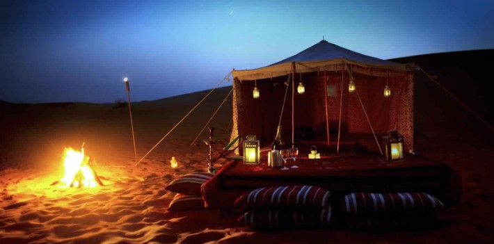 Desert Safari And Camping, Top Things to Do in Dubai at Night