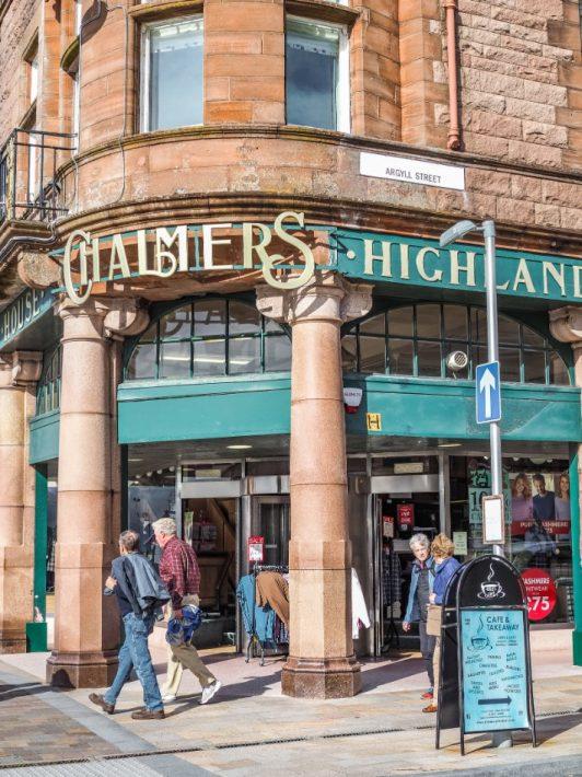 argyll street, oban, scotland itinerary