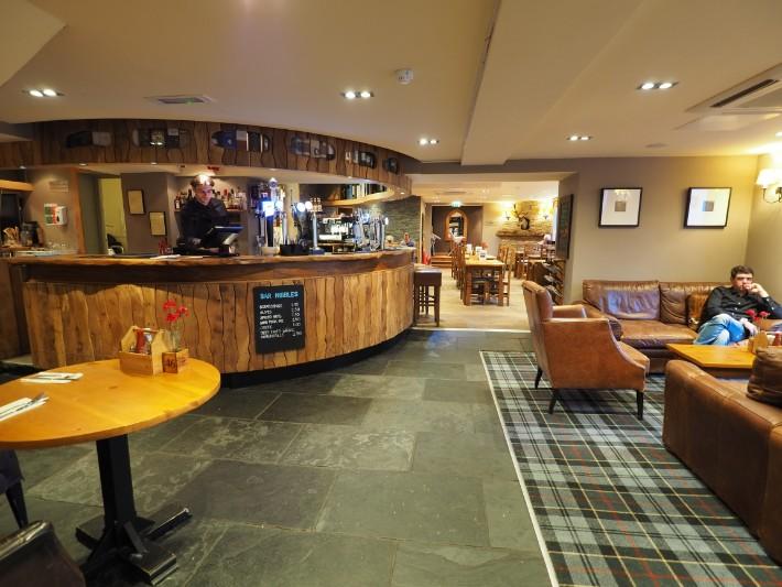 bar, the inn on Loch lomond, scotland itinerary