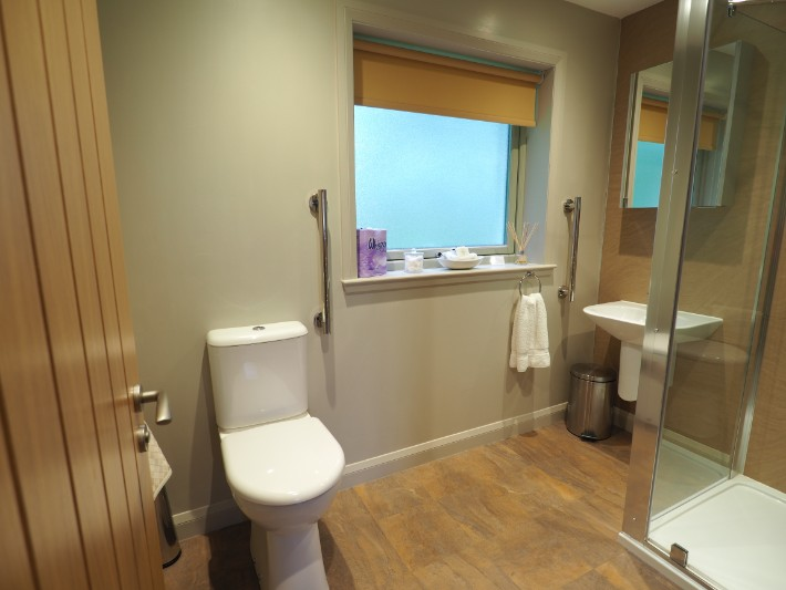 bathroom, glen nevis holidays luxury cottage, scotland itinerary
